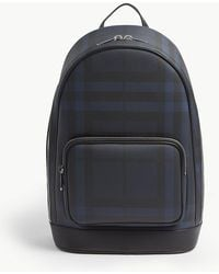Burberry - London Check Slim Backpack - Lyst