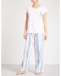 PETER ALEXANDER | Bed Stories Cotton Pyjama Set | Lyst