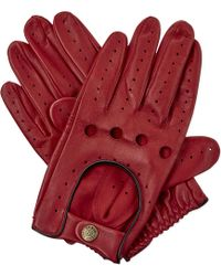 Dents - Leather Driving Gloves - Lyst