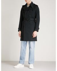Sandro | Belted Cotton Coat | Lyst