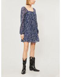 PAIGE - Marjoram Silk-chiffon Dress - Lyst