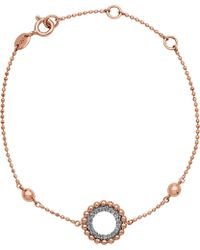 Links of London - Effervescence 18ct Rose Gold And Diamond Bracelet - Lyst