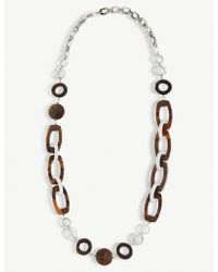 Max Mara - Resin Necklace - Lyst