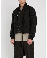 Unravel - Cropped Padded Cotton Jacket - Lyst