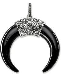 Thomas Sabo - Rebel At Heart Onyx Maori Tiger's Tooth - Lyst