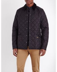 Barbour - Liddlesdale Quilted Shell Jacket - Lyst