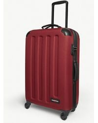 Eastpak - Red Stripe Tranzshell Medium Four Wheel Cabin Suitcase - Lyst