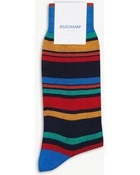 Duchamp - Noka Cotton-blend Socks - Lyst