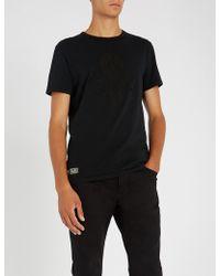 Polo Ralph Lauren - Skull-and-crossbones Cotton-jersey T-shirt - Lyst