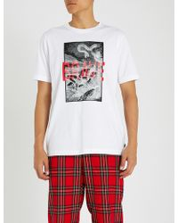 DIESEL - T-just-xz Graphic Print Cotton-jersey T-shirt - Lyst