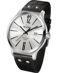 TW Steel - Tw1301 Slim Line Stainless Steel Watch - Lyst
