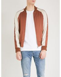 The Kooples - Piped Satin Bomber Jacket - Lyst