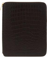 Smythson - Mara Leather A5 Writing Folder 25cm - Lyst