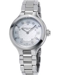 Frederique Constant - Fc-281whd3er6b Constant Horological Stainless Steel Smartwatch - Lyst