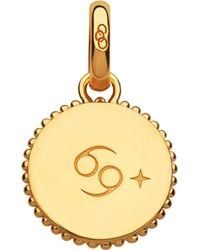 Links of London - Cancer 18ct Yellow-gold Vermeil Zodiac Charm - Lyst