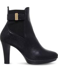 Carvela Kurt Geiger - Rae Leather Ankle Boots - Lyst