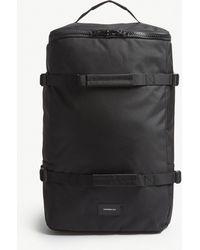 Sandqvist - Black Zack Canvas Backpack - Lyst