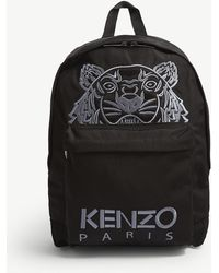 KENZO - Tiger Canvas Backpack - Lyst
