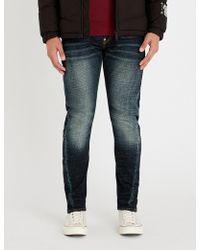 Evisu - Daruma Slim-fit Skinny Jeans - Lyst