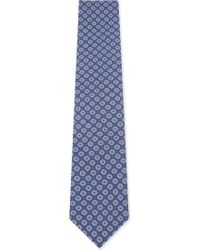 Eton of Sweden - Floral Silk Tie - Lyst