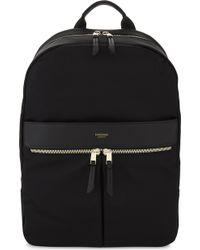 Knomo Black Mayfair Beauchamp Backpack