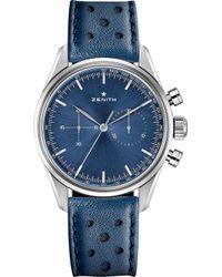 Zenith - C805 Chronomaster Stainless Steel Watch - Lyst