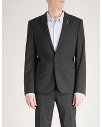 The Kooples   Slim-fit Wool And Mohair-blend Jacket   Lyst