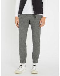 Slowear - Tailored Cotton And Linen-blend jogging Bottoms - Lyst