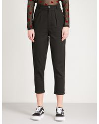 Lazy Oaf | Peggy Slim-fit Cotton Trousers | Lyst