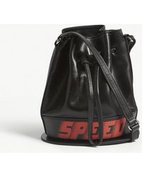 Mo&co. - Speed Leather Bucket Bag - Lyst