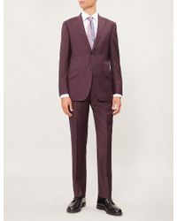 Richard James - Single-breasted Tailored-fit Wool Suit - Lyst