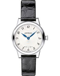 Montblanc - Boheme Date 111055 Stainless Steel Watch - Lyst