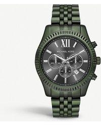 Michael Kors - Mk8604 Lexington Stainless Steel Watch - Lyst