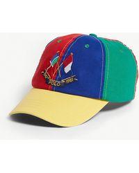 Polo Ralph Lauren - 1987 Colour-blocked Cotton Baseball Cap - Lyst 9669a6fb8970