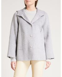 JOSEPH - Rowen Wool And Cashmere-blend Coat - Lyst