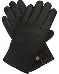 Sandro | H16 Classic Leather Gloves | Lyst