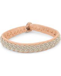 Maria Rudman | Pewter Woven Bracelet | Lyst