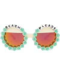 Rad & Refined | Beach Please Round-frame Sunglasses | Lyst