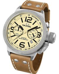 TW Steel - Cs13 Stainless Steel Watch - Lyst