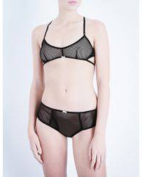 Daydream Nation - Nothing But Net Mesh Soft-cup Bra - Lyst