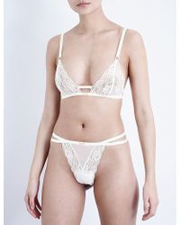 Daydream Nation - Selene Lace Soft-cup Bra - Lyst