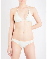 Guess - Ladies Guess Originals X A$ap Rocky Triangle Bikini Top - Lyst