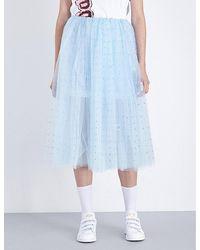 Fyodor Golan - Studded Tulle Skirt - Lyst