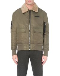 Trapstar - Embroidered-patch Flight Jacket - Lyst
