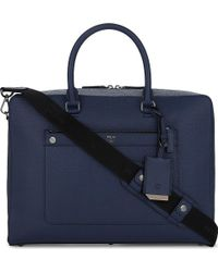 MCM - Markus Medium Leather Briefcase - Lyst