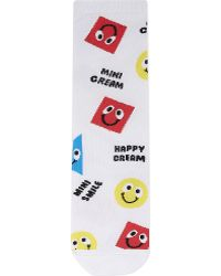 Mini Cream - Smiley Face Socks - Lyst