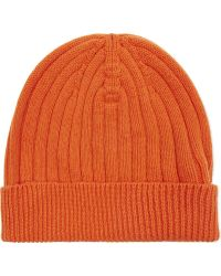 Pringle of Scotland - Ribbed Cashmere Hat - Lyst