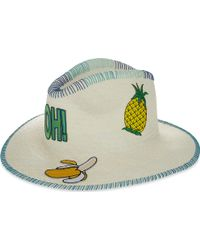 Sara Designs - Oh! Patch Hat - Lyst