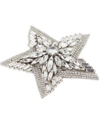 Erickson Beamon - Star Search Silver-plated Brooch - Lyst