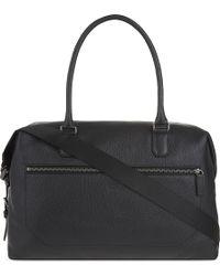 Armani - Grain Leather Weekend Bag - Lyst